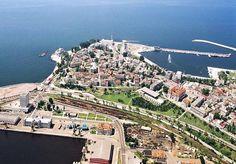 Constanta Romania dobrogea Black Sea aerial view Constanta Romania, Danube Delta, Ancient Names, Old Port, Black Sea, Aerial View, The Locals, Paris Skyline, Theater
