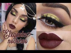ELEGANTE NOCTURNO- LOOK DORADO - YouTube