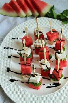 Watermelon Feta and Mint Skewers are the easiest appetizer around. Salty Feta compliments sweet watermelon for an appetizer that will please people of all ages. Wow! What a weekend. After our action packed weekend last week, we vowed to do less this weekend and we massively failed. I mean, massive failure on all levels. We…