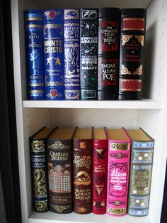Barnes & Noble Leather bound Classic Collection...want!