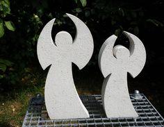 Beton Giessform WUNDERVOLLER ENGEL 50 cm von Beton in Form auf DaWanda.com