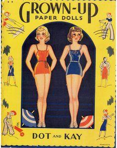 Grown up Paper dolls - Bobe Green - Picasa Web Albums