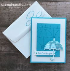 Create a here for you card using the retiring Weather Together Stamp Set and Tempting Turquoise, available While Supplies Last. Mary Fish, Stampin' Pretty. Stampin' Up! #maryfish #stampinpretty