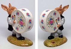 "Flower Drum-Royal Doulton ""Bunnykins Drummer"" Figurine DB26  | eBay"