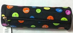 Luxury Colourful Smiley Faces on Black Cotton Pencil Case Make Up Case S Stationery http://www.amazon.co.uk/dp/B00QOVQTO0/ref=cm_sw_r_pi_dp_dbEqwb1GNMH17