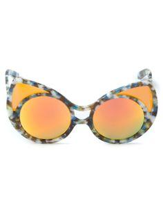 Khaleda Rajab & Fahad Almarzouq By Linda Farrow Gallery 'khaleda Rajab & Fahad Almarzouq 1' Sunglasses - Elite - Farfetch.com