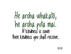 If kindness is sown, then kindness you shall receive. - Maori proverb new zealand and australia peoples Maori Designs, Maori Leg Tattoo, Tribal Tattoos, School Resources, Teaching Resources, Teaching Ideas, Hawaii Quotes, Maori Words, Maori Symbols