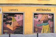 Calle de Almaden, 12. Barrio Huertas y Las Letras. Madrid 2015.