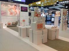 Promoción combinada Miss Dior/Dior Home Sport-Aeropuerto de Madrid Terminal 4 Marzo 2013