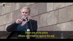 Sweden's Gulag: Anti-Sharia Activist, Åsa Westerberg, Arrested & Abused ... Police Officer, By, Youtube, Youtubers, Youtube Movies