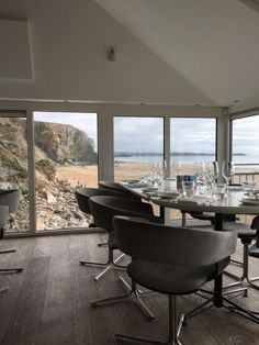 View of Watergate Bay from Fifteen Cornwall | © Jonathan Rolande/Flickr