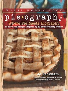 What kind of pie conveys the experience of starting a new job, getting married, becoming a mom? Over 30 of the country's top foodies are here to tell you. Each one has devised a pie recipe that captures the essence of her life. Stir in beautiful photography, short essays, and brief bios, and voilá, you've got more than a cookbook: you've got Pieography.