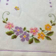 Gallery.ru / Лена Ленацилих Vegan, Crochet Projects, Punto De Cruz, Dots, Flowers, Vegans