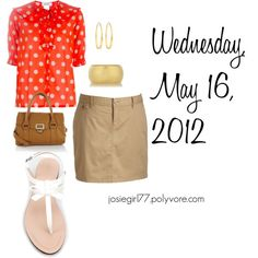 Polka Dots: Wednesday, May 16, 2012, created by josiegirl77 on Polyvore