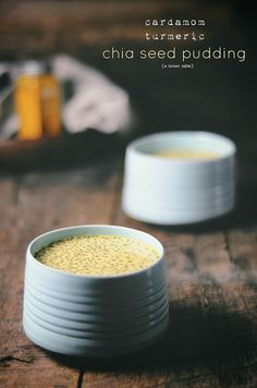 cardamom turmeric chia seed pudding by abrowntable, via Flickr