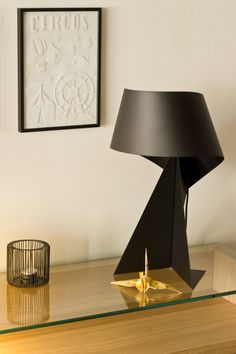Lamp Ribbon Habitat Black Deisgn