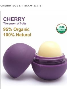 EOS Balm Cherry    To bad u can't get this, I wonder what it smells like!