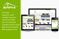Check out SJ Saphi - Furniture Joomla Theme by YouTech on Creative Market