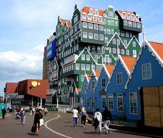 7. Hotel Inntel de Amsterdam, Holanda > 15 projetos arquitetônicos ao redor do mundo que você tem que olhar duas vezes