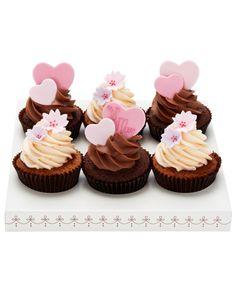 £25 Mother's Day Cupcake Giftbox. Peggy Porschen