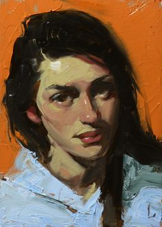 """Mimic"" by John Larrive - ""Sway"" by John Larrive - oil on hardboard."
