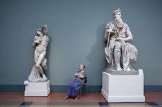 Mosè di Michelangelo e lo schiavo morente, museo Pushkin  © Andy Freeberg, Guardians