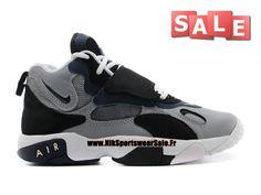 Nike Air Speed Turf GS - Chaussure D´entrainement Nike Pas Cher Pour Femme/Garçon Stealth/Midnight Navy-Noir-Blanc 535735-003