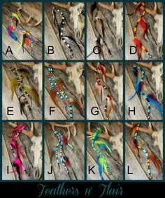 Feathers n' Flair Rhythm Beads, Mane & Tail Bling for horses, by rhythm-n-beads.com