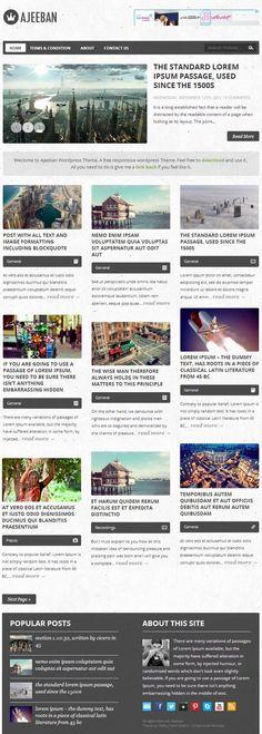 Ajeeban Responsive WordPress Themes