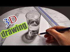 3D Artist Creates An Incredibly Lifelike Glass Of Water With Just A Pencil | SF Globe