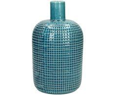 Shoppen Sie Deko-Vase Eve in Blau und setzen Sie ausgefallene Akzente. Weitere Vasen für Ihre Blumen auf >> WestwingNow. Conceptual Design, Jonathan Adler, Bristol, Water Bottle, Interior Design, Home Decoration, Beautiful Homes, Nice Asses, Blue