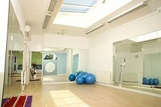 Our yoga and Pilates studio