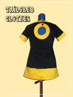 tailored clothes saga: sixties repro dress...love it!