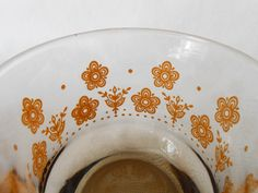 Libbey Butterfly Gold Beverage & Juice Glass by WeBGlass on Etsy