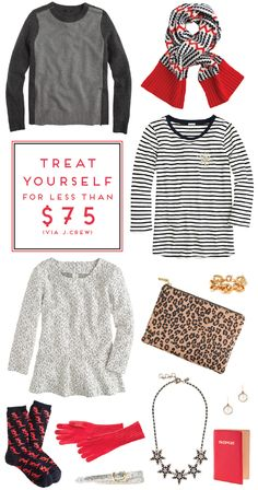 treat yourself for less than $75!