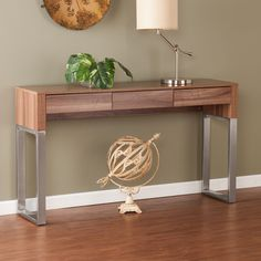 Artwork of Decorating the Hallway with Perfect Console Tables Design Ikea