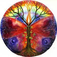 Mandala of artist, Kate Bedell www.katebedell.com