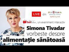Alimentație sănătoasă cu Simona Tivadar. Curs video explicativ - YouTube Metabolism, Health, Youtube, Food Items, Diet, Health Care, Salud, Youtubers