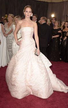 Jennifer Lawrence - Dior dress