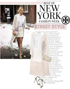 """""""gigi hadid in tory burch"""" by esterp on Polyvore"""