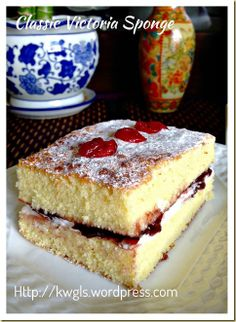Classic Victoria Sponge Cake from Kenneth Goh