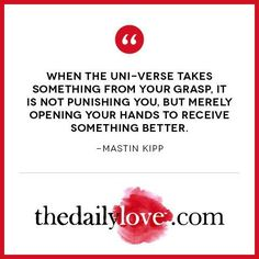 Visual Inspiration: Open Your Hands To Receive Something Better!