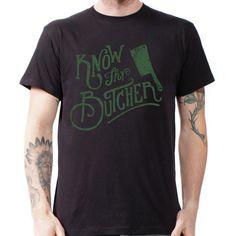 Know Thy Butcher - Men's T-Shirt