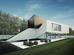 Cut House by 81.WAW.PL | Inspirationist