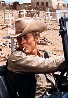 "James Dean in ""Giant"" (1956)"