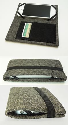 phone wallet case  - could make something like this to carry around at work