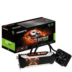 GIGABYTE - Grafikkarte - NVIDIA - PCI Express Solution - GeForce® GTX 10 Series - GeForce® GTX 1080 Xtreme Gaming WATERFORCE 8G (rev. 2.0)