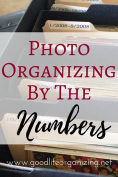 The statistics show we are all overwhelmed by photo organizing. From Photo Organizing Expert Andi Willis of Good Life Organizing