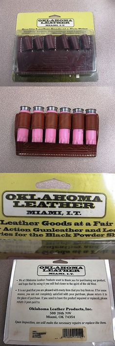 Ammunition Belts and Bandoliers 177884: Oklahoma Leather Products 6 Round 12 Guage Shotgun Shell Holder New! Free Ship! -> BUY IT NOW ONLY: $35.0 on eBay!
