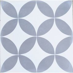 x Circulos Cement Tile (Set of by Rustico Tile & Stone Concrete Tiles, Stone Tiles, Encaustic Tile, Spanish Style Homes, Floor Patterns, Contemporary Home Decor, Shower Floor, Fireplace Surrounds, Mid Century Style